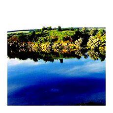 Пейзаж Чернильного озера