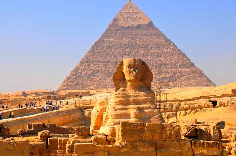 Схема Египетской пирамиды