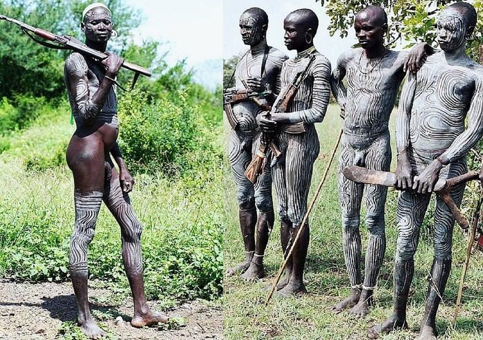 голая Африка
