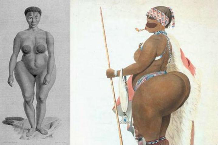 большие жопы африканских женщин