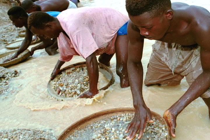 стоимость алмазов в Африке